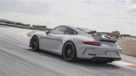 porsche gt3 2018 porsche 911 gt3 review with price horsepower and