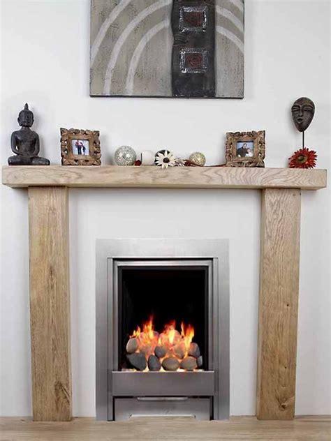 Fireplace Mantel Extension by Solid Oak Beam Surround Mantelpiece Bespoke Fireplace