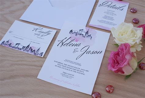 Nyc Themed Wedding Invitations by Nyc Themed Wedding Invitations Wedding Invitation Ideas