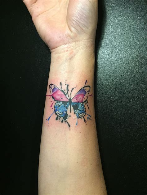 butterfly watercolor tattoo butterfly watercolor