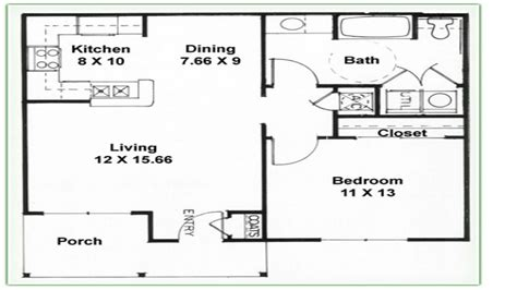 2 Bedroom 1 Bath Floor Plans | 2 bedroom 1 bath floor plans 2 bedroom 2 bathroom 3