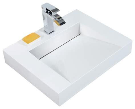 aquamoon venice 68 white infinity double sink modern aquamoon aquamoon venice infinity modern bathroom vessel