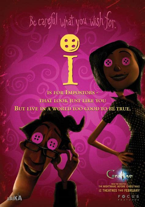 coraline book pictures this weekend s coraline teaser posters g h i j