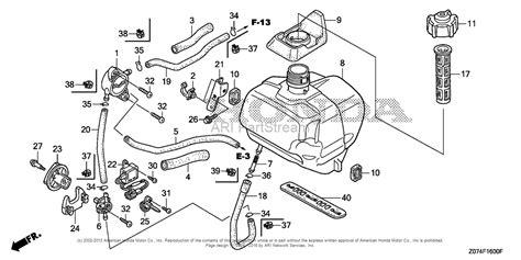 honda eu2000i parts diagram honda eu2000i an generator jpn vin eaaj 1170001 parts