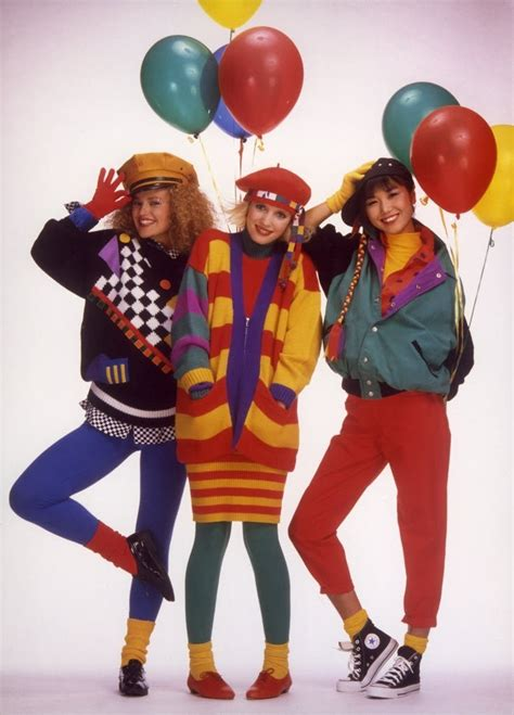 80年代 ファッション スライドショー 80s womens fashion photography
