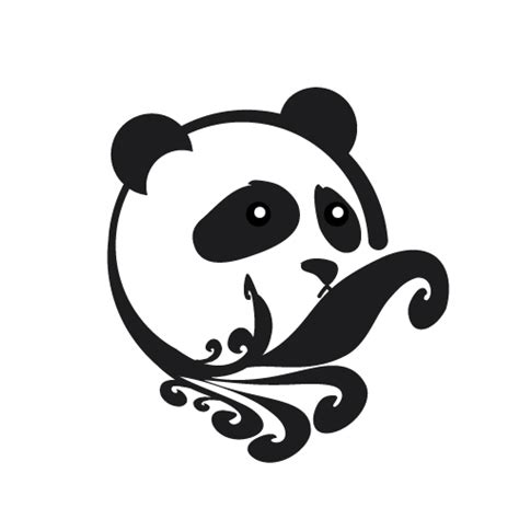 tribal panda tattoo panda tribal search panda land