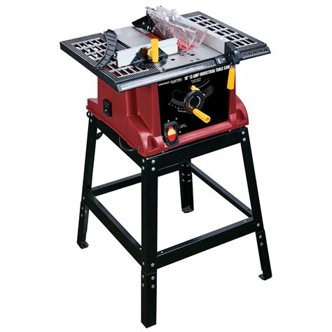 electric saw bench 10 in 15 amp benchtop table saw