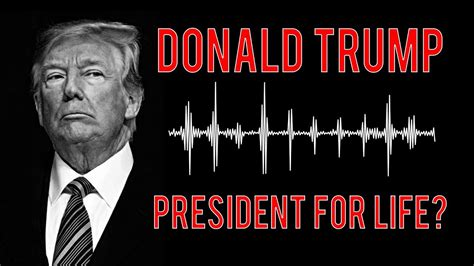 biography of donald trump youtube donald trump wants to be president for life youtube