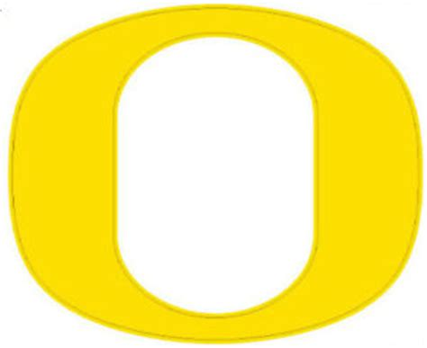 University Of Oregon Gift Card - university of oregon quot o quot sm decal yellow ebay