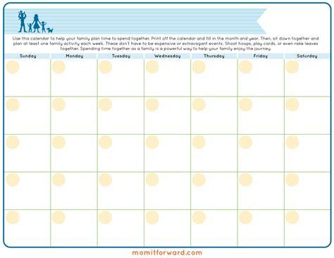 printable organizational calendar family calendar schedule printable calendar template 2016
