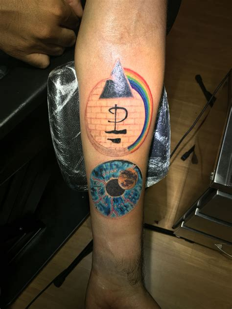 watercolor tattoo pink floyd pink floyd tatuagem pulse the wall s