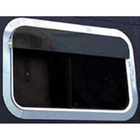 Peterbilt Sleeper Window by Sleeper Window Trims And Visors Big Rig Chrome Shop Semi