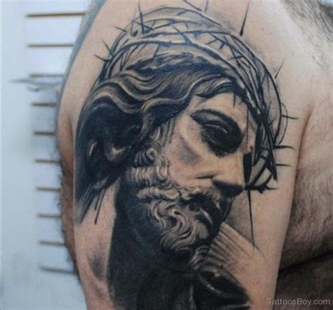 jesus fish tattoo behind ear jesus tattoos tattoo designs tattoo pictures page 22
