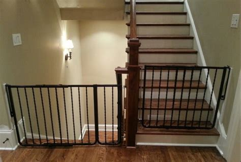 top of stairs banister baby gate regalo top of stairs gate ideal baby gates for stairs