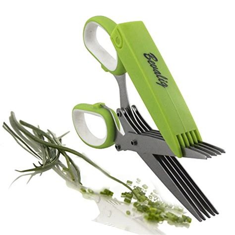 salad scissors stainless steel multipurpose kitchen shear top 17 for best herb cutter