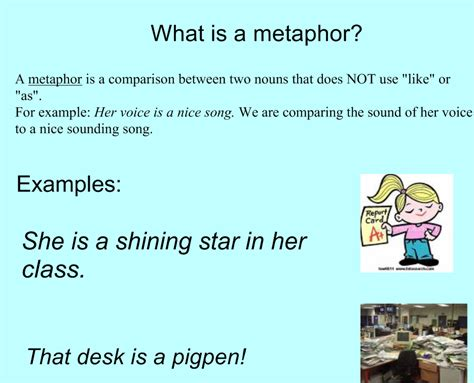 ms alisons blog similes and metaphors
