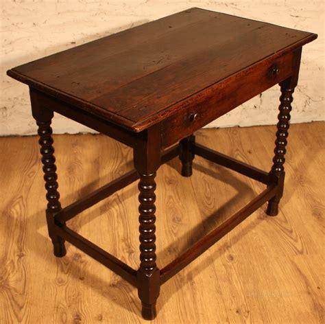 oak z side table early oak side table with single drawer antiques atlas