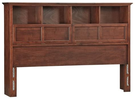 Wood Bookcase Headboards whittier wood bookcase headboard