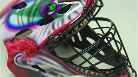 softball helmet design your own airbrushed softball catchers helmets youtube