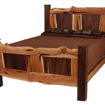 Juniper Wood Bed Frames Best Reclaimed Bed Products On Wanelo
