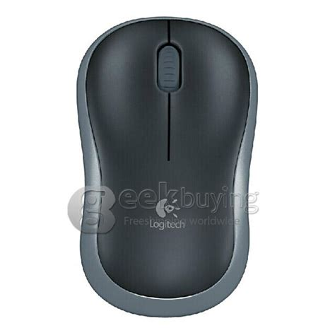 Mouse Wireless Logitech M185 Comfortable And Colourfu Diskon logitech m185 1000dpi 2 4ghz wireless mouse for pc notebook gray