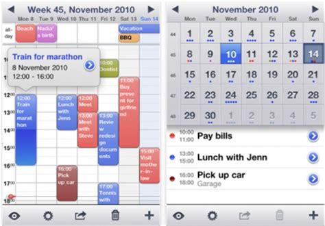 Calendrier Iphone Week Calendar Porta Il Calendario Settimanale Su Iphone