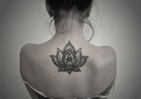 lotus flower back tattoo 155 lotus flower designs