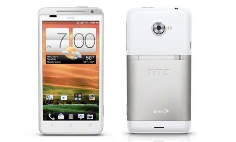 htc evo 4g lte android htc evo 4g lte bluetooth gps white android phone sprint