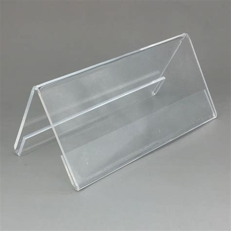 Acrylic Name Table display acrylic stand promotion shop for promotional