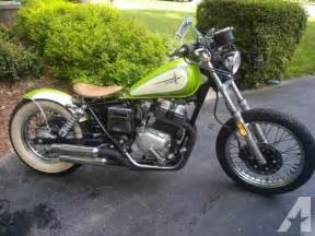 Honda Rebel 250 For Sale 1986 Honda Rebel 250 Bobber For Sale In Glen Allen