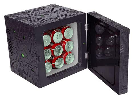 energy drink zombicide trek borg cube fridge thinkgeek