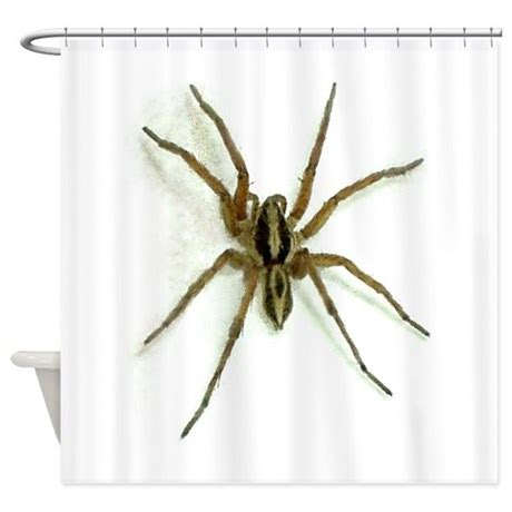 Wolf Spider Shower Curtain By E Oldeshoppe