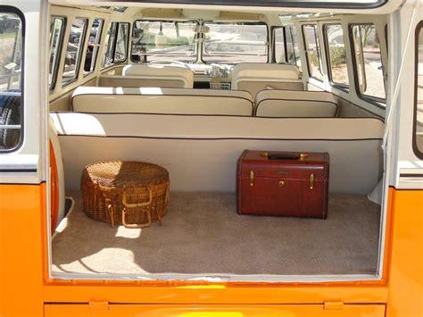 Consign It Home Interiors 1962 volkswagen 23 window custom samba bus 101959