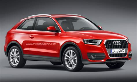 audi two door coupe audiboost renderings of a two door audi q3 coupe suv
