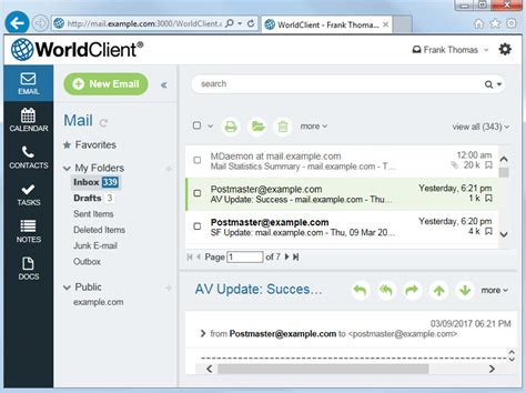 email web ict tech support new ict webmail features and upgrades
