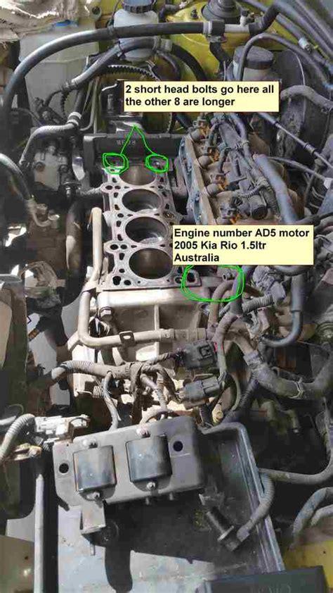small engine maintenance and repair 2005 kia rio engine control kia rio engine number location kia forum