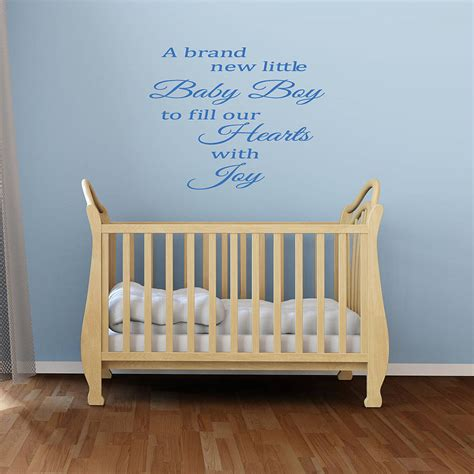 Wall Decals For Baby Boy Nursery Wall Decal Design Uplifting Ideas Of Baby Boy Wall Decals Quotes For His Room Uplifting Ideas