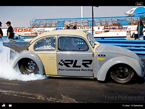 volkswagen beetle race car payneless pro mod testing in sacramento vw promod bug