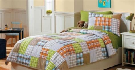 pbk curious george crib bedding pip circo 174 orange patchwork quilt set sam pinterest