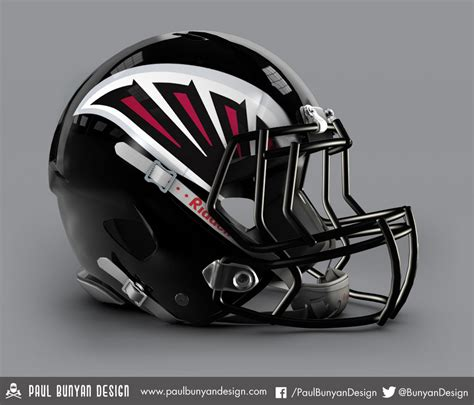 concept design nfl helmets my take on nfl concept helmets atlanta falcons design
