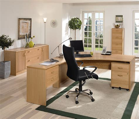 Home Office Captivating Office Design Presented With Plain Pine Office Furniture For The Home Office