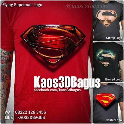 kaos superman kaos