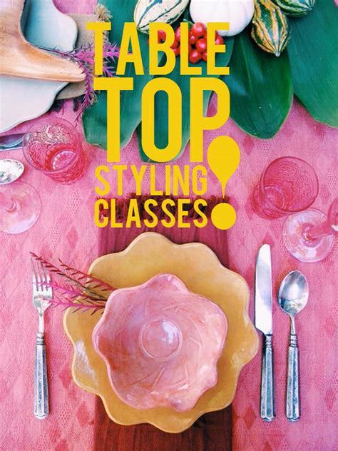 event design online classes table top styling classes jungalowjungalow