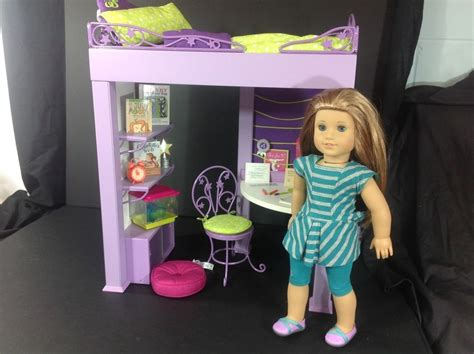 american girl doll mckenna bed american girl doll mckenna 2012 doll and loft bed with