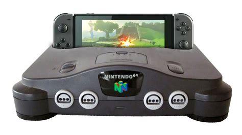 console nintendo 64 nintendo switch vs nintendo 64
