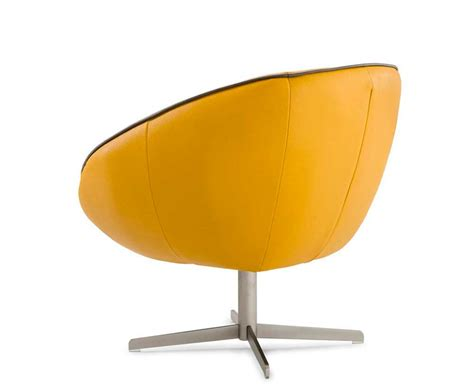 Yellow Modern Chair by Modern Yellow Eco Leather Lounge Chair Vg76 Accent Seating