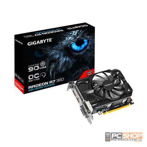 Vga Ati Radeon 2gb 128 Bit Placa De V 237 Deo Amd Radeon R7 360 Oc Gigabyte 2gb Gddr5