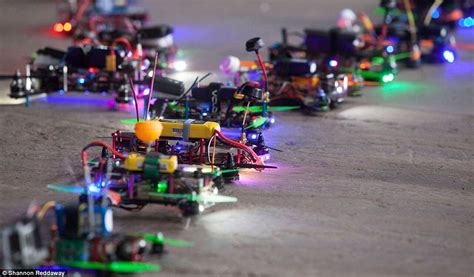Drone Racer drone racing taking abandoned warehouses and car parks daily mail