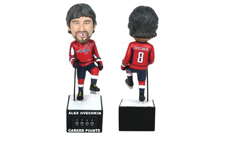 bobblehead point new ovechkin bobblehead with career points counter