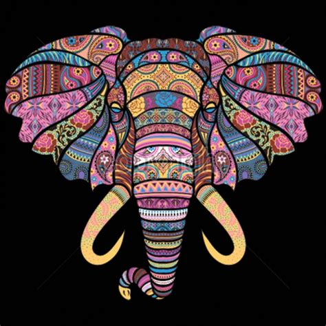 harry styles tattoo iron on transfers mosaic elephant